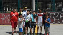Rehabilitación de canchas de Tlatilco con clases de Fútbol Soccer