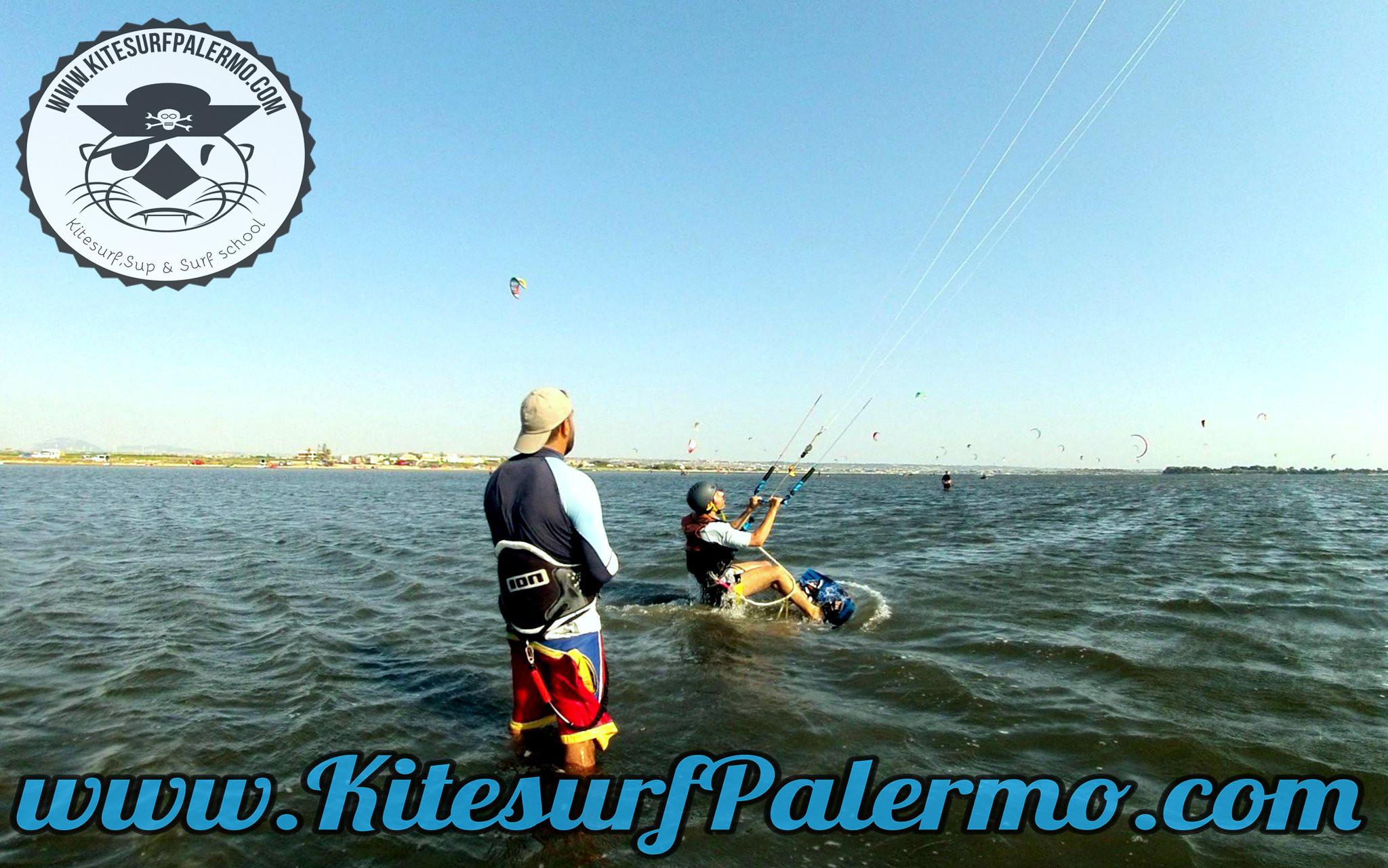 2 Kitesurf Basic Course Sicily- Stagnone