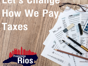 Let's Change Our Broken Tax System (National Sales Tax)