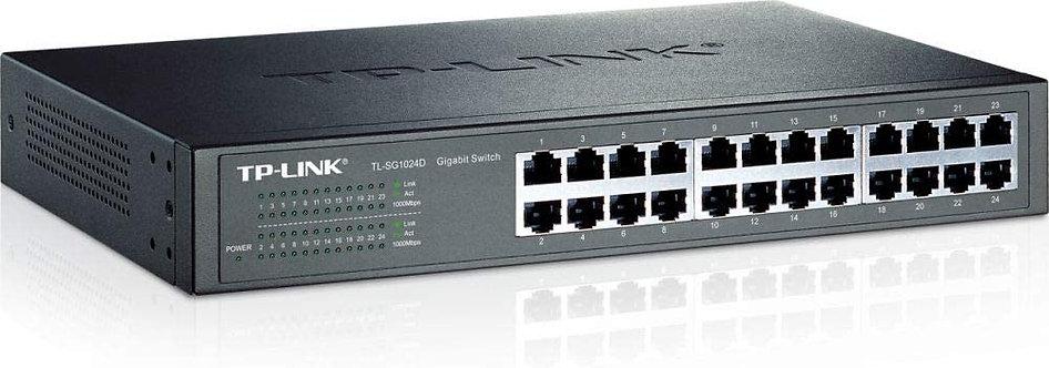 TP-LINK Tl-sg1024d 24 ports Gigabit Desktop Switch 10/100/1000 M