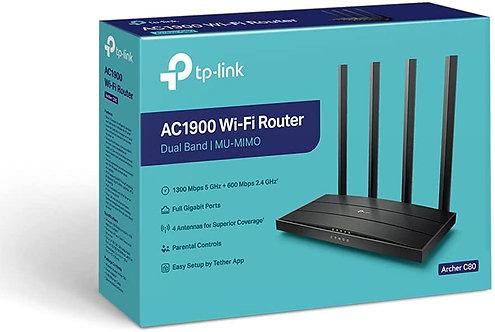 TP-Link Routeur WiFi AC1900 MU-MIMO sans fil – Routeurs Internet sans fi