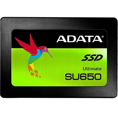 Disque SSD ADATA SU650 240GO SATA3 6GBPS 3D NAND