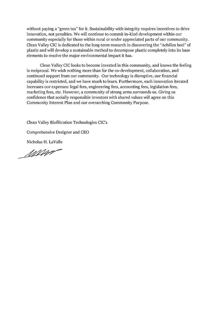 CV;BT_CIC Community Policy Update 2101 2