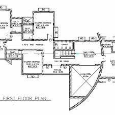 Best-2d-Cad-Drawing-First-Floor-Plan-Of-