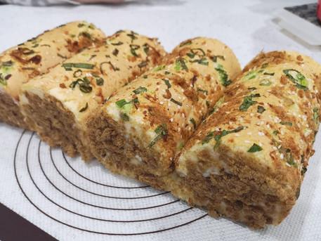 肉鬆蛋糕卷 | Pork Floss Swiss Roll