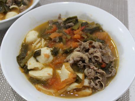 食出童年回憶的雪菜番茄湯麵 | Tomato Pickled Cabbage Noodle Soup