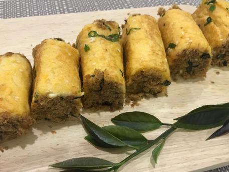 平底鍋就能做出美味的迷你肉鬆麵包卷|Mini Pork Floss Bread Rolls