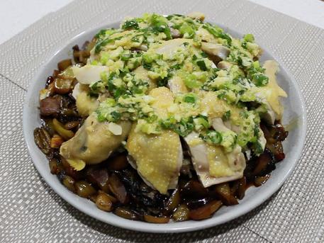 不一樣的白切雞 :麻辣酸菜白切雞 | Mala Pickled Mustard Green Chicken