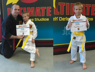 Sam Walker - Yellow Belt!