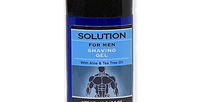Solution for Men Shaving Gel