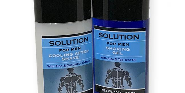 Solution for Men After Shave