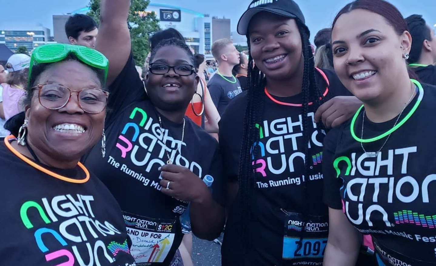 Night Nation Run with Members in June 2019 in Philadelphia
