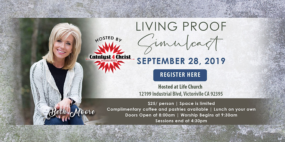 Beth Moore Simulcast coming to Victorville!
