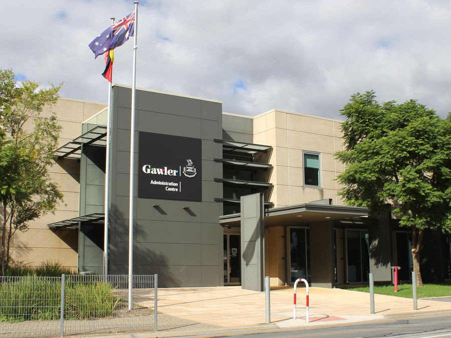 Town of Gawler Council Building Cnr Lyndoch Rd and High Street Gawler