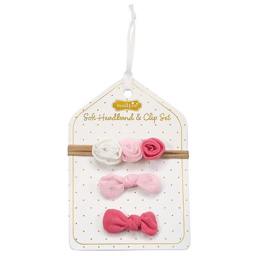 Mess Flower HB & Clips