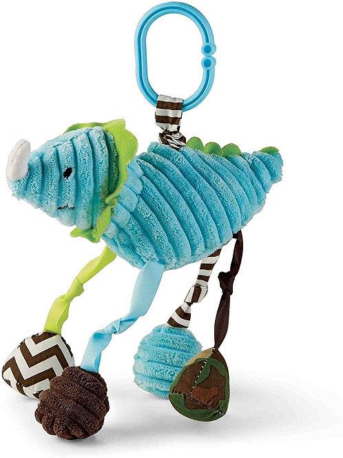 Blue Dino Stroller Toy