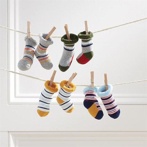 Boy Newborn Sock Set