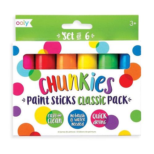 Chunkies Paint Sticks - Classic Pack