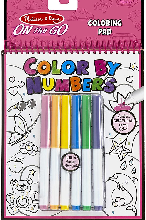 Color By Numbers- Pink