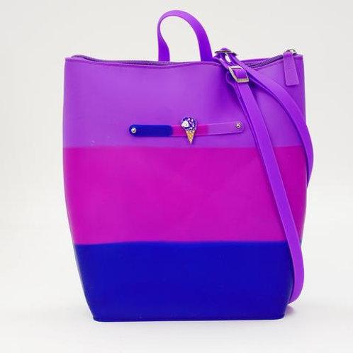 Blueberry Yummy Gummy Zip Backpack