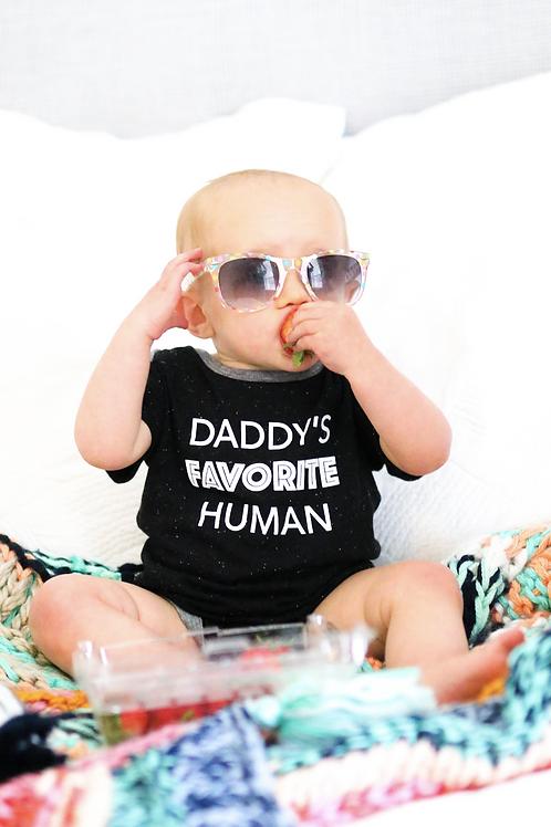 Daddy's Favorite Human Onesie