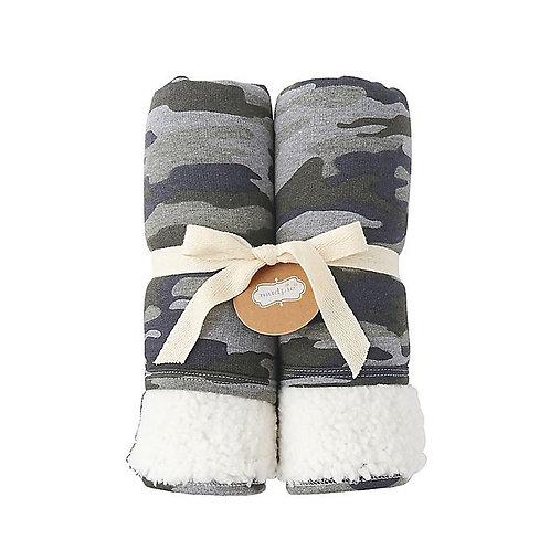 Camo Sweatshirt Blanket