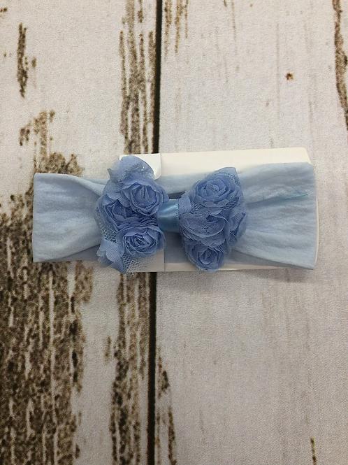 Chiffon Rose Bow Headband
