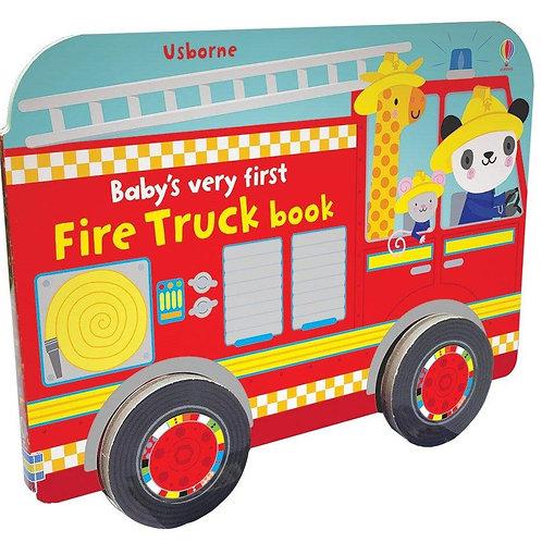 Baby's Very First Firetruck Book