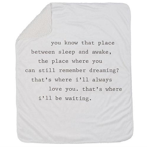 Dreaming Sherpa Blanket