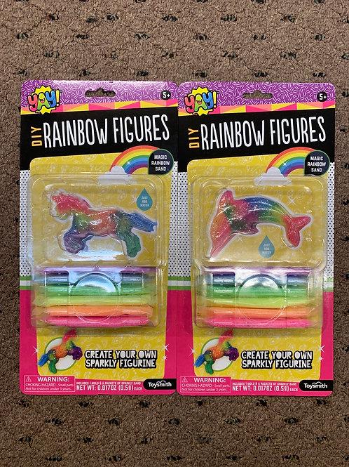 DIY Rainbow Figures