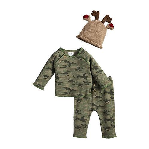 Camo Reindeer 3PC Set