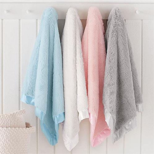 Satin Trim Infant Blanket