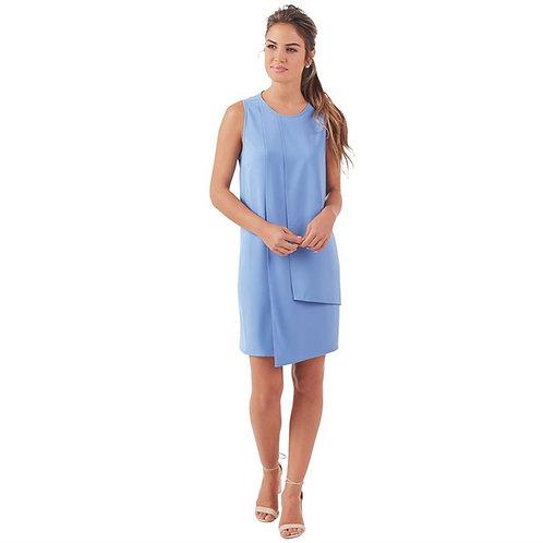 Elizabeth Panneled Dress- Blue
