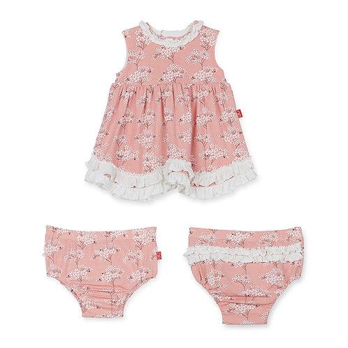 Cherry Blossom Modal Magnetic Dress/Diaper Cover