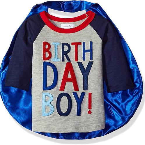 Birthday Boy Cape TShirt