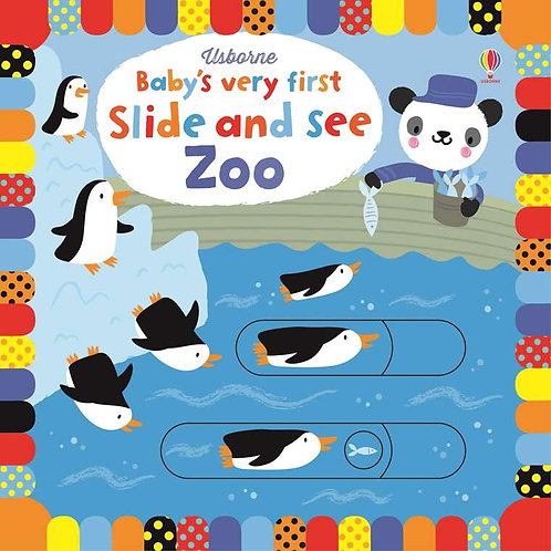 BVF Slide And See Zoo Book
