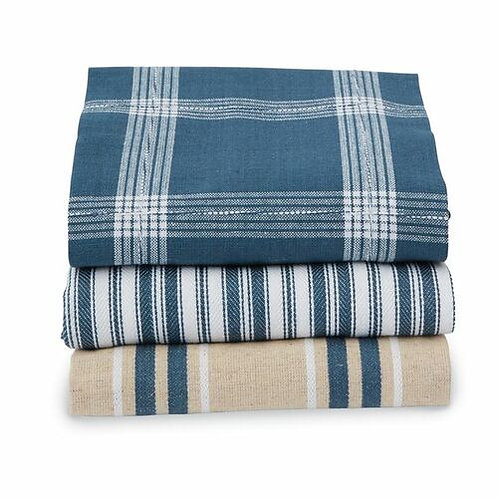 Blue Stacked Towel Set