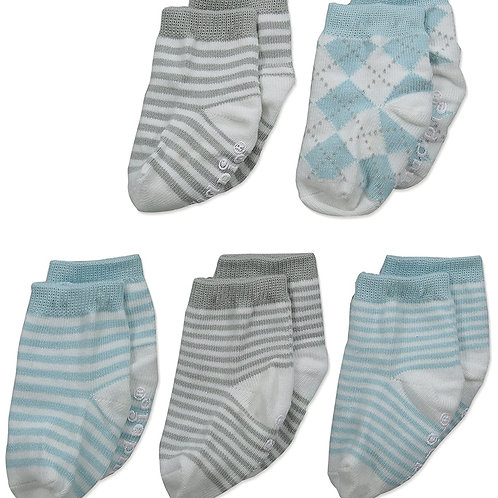 Blue Boy Baby Basics Socks