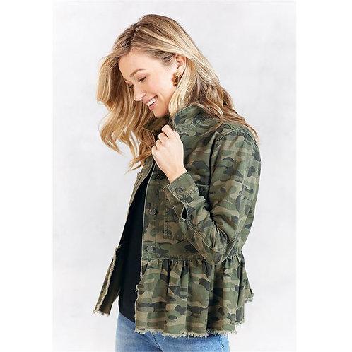 Banks Jacket- Green Camo