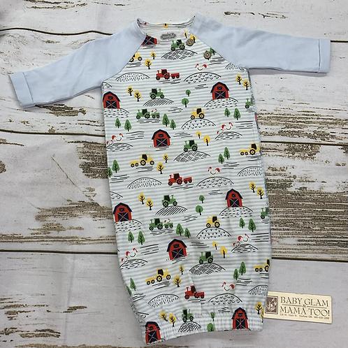 0/3 Boy Farmhouse Gown