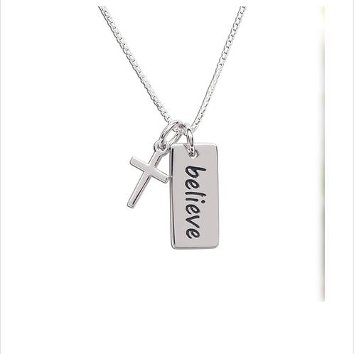 """BCN-Believe Necklace 14"""""""
