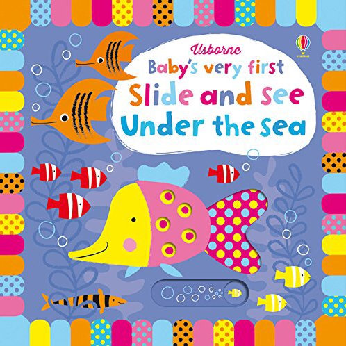 BVF Slide And See Under The Sea Book