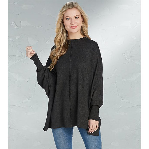 Charcoal Leni Sweater One Size