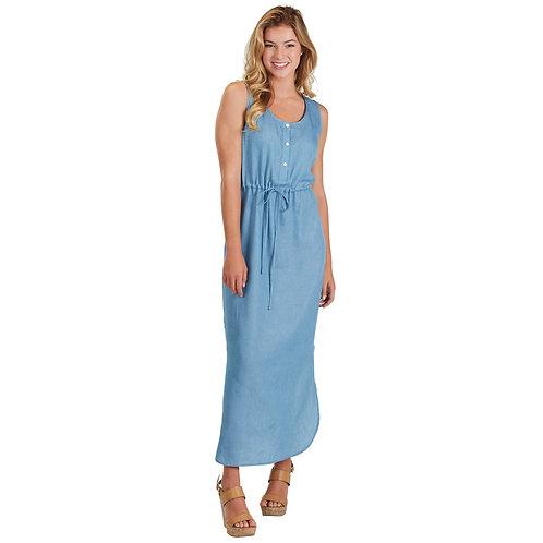 Derby Maci Dress- Chambray