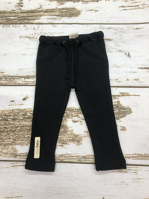 Black Drawstring Pant