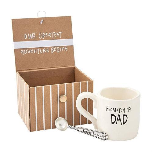 Dad Coffee Announcement Box