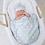 Thumbnail: Blue Sweet Baby Hat/Blanket Set