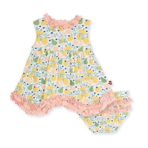 Citrus Bloom Modal Dress