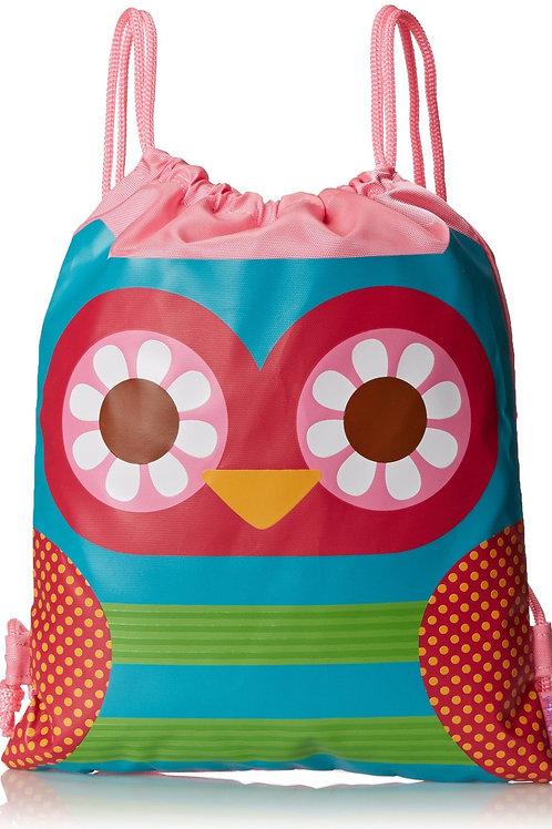 Drawstring Bag- Owl