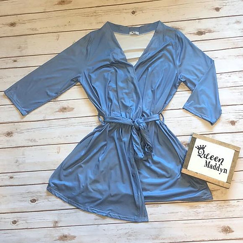 All Blue Robe One Size